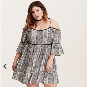 Torrid cold shoulder dress